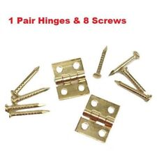 1:12 Dollhouse Miniature Fitment Material Metal Hinges And Screws For Mini D LU
