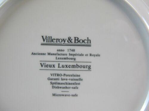 Villeroy /& Boch Vieux Luxembourg Alt Luxemburg 1x Suppenteller