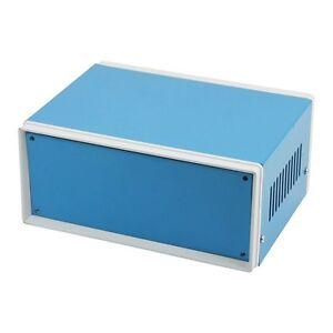 6-7-034-x-5-1-034-x-3-1-034-Blue-Metal-Enclosure-Project-Case-DIY-Junction-Box-ED