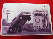 1966 PLYMOUTH BARRACUDA HURST HEMI UNDER GLASS  WHEEL STANDING  PHOTO   PICTURE