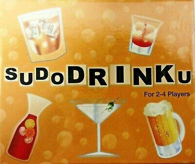 SUDODRINKU SUDOKU BOARD GAME The Highly Addictive Sodoku Drinking Game Plus