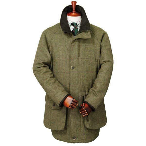 Laksen Dorset Roxbury Tweed Coat (RRP .00)