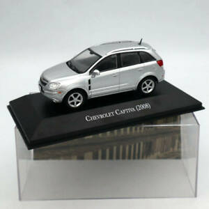 IXO-Altaya-Chevrolet-Captiva-2008-Silver-1-43-Diecast-Models-Limited-Edition