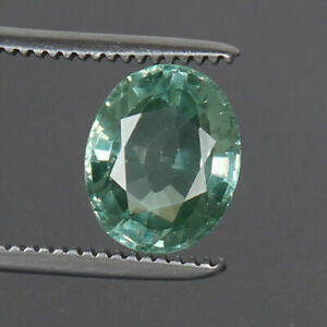 8-35-Ct-Natural-Paraiba-Copper-Bearing-Green-Tourmaline-Oval-Cut-Loose-Gemstone