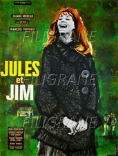 JULES et JIM FILM Rgaz-POSTER/REPRODUCTION 60x80cm* d1 AFFICHE VINTAGE