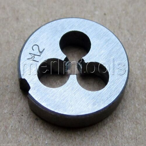 2mm x .4 Metric Right hand Die M2 x 0.4mm Pitch