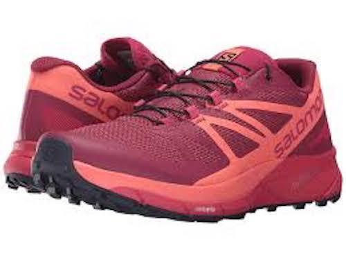 Salomon Sense Ride Women's Sangria Coral Pink Size Running shoe size 7