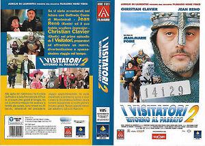 I VISITATORI 2 - RITORNO ALPASSATO (1998) vhs ex noleggio - Italia - I VISITATORI 2 - RITORNO ALPASSATO (1998) vhs ex noleggio - Italia