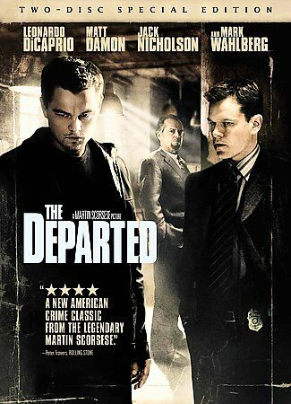 The Departed DVD, 2007, 2-Disc Set, Special Edition  - $0.99