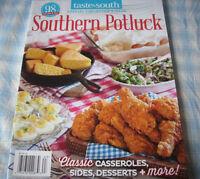 Recipe Magazine, Southern Potluck, 2016, 98 Recipes, Taste Of The South