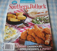 Recipe Magazine, Southern Potluck, 2016, 98 Recipes, Taste Of The South