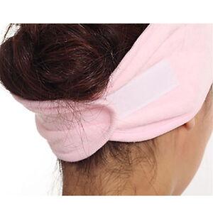 Fashion-Spa-Bath-Shower-Makeup-Wash-Face-Cosmetic-Headband-Hair-Band-Accessories