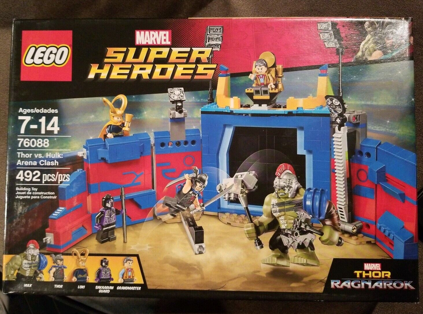LEGO Marvel Super Heroes Thor vs. Hulk Arena  Clash 2017 (76088)  shopping online di moda