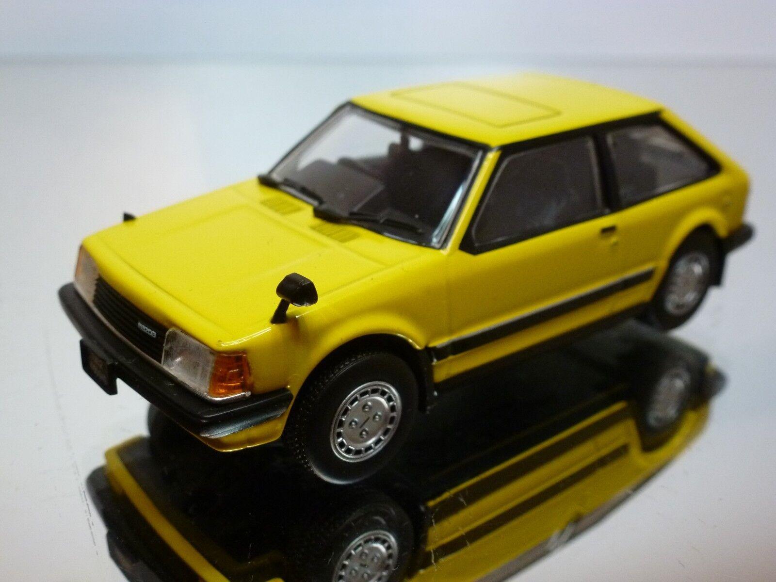 SAPI MODELS MAZDA FAMILIA 1500 XG 1982  - giallo 1 43  - EXCELLENT - 31