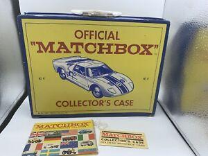 Lesney-Matchbox-Cars-48-Vintage-Matchbox-Coleccionistas-Estuche-Con-Etiqueta