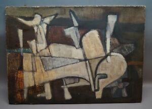 Bruno DIEMER attrib Brackenheim 1924-62 Blamont Frankreich Abstrakte Komposition