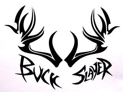 Custom Deer /& Beer Slayer Window Decal Vinyl Sticker
