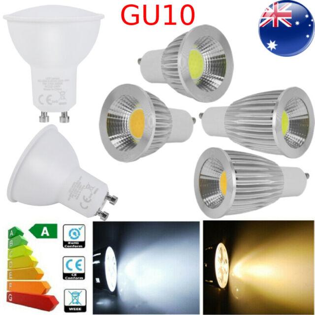GU10 Ultra Bright Dimmable LED 5/6/9/15W Globe Down Light Spotlight Bulb Lamp 7X