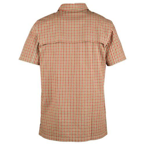 FJÄLLRÄVEN Herren Hemd Svante Seersucker Shirt SS Outdoorhemd kurzarm green