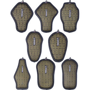 003 Black//Yellow Forcefield Body Armour Pro Lite K Back Insert