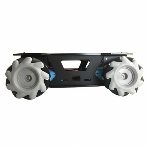 Details about  /AGV Robot Car Chassis w// Mecanum Wheel Metal//Plastic Gear Motor Wireless Robot