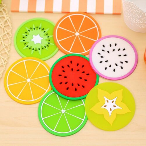 Silicone Table Placemat Coaster Coffee Cup Mug Pad Heat Resistant Pad Tea Mat