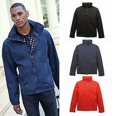 Regatta Classics Shell Long Sleeves Jacket Trw470 - Mens Water/windproof Coat Strukturelle Behinderungen