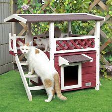 "Petsfit 30""x22""x29""Outdoor cat house,New Version With Escape Door, Ideal cat con"