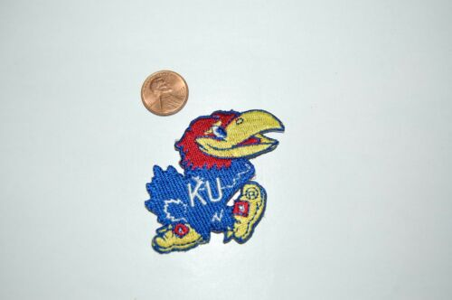 "Kansas Jayhawks 2 1//4/"" Patch 1946-2005 Primary Logo College"