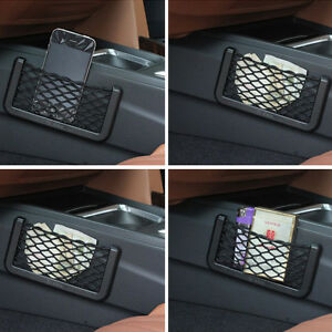 Car-Auto-String-Mesh-Bag-Storage-Pouch-fuer-Mobile-Phone-Gadget-Cigarette-Case