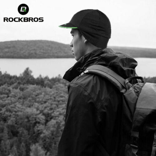 RockBros Cycling Caps Men/'s Winter Thermal Fleece Outdoor Sports Earmuffs Caps