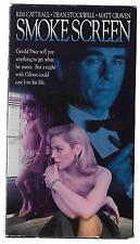 SMOKESCREEN (VHS 1990) Kim Cattrall Mat Craven THRILLER erotic