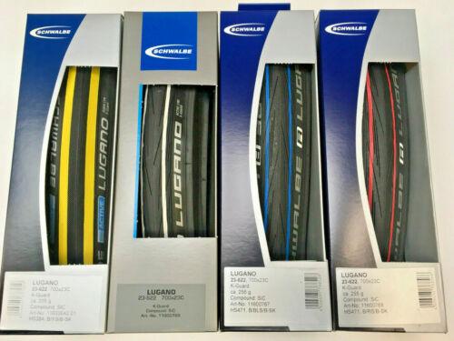 folding tyre 23-622 . Colour Option SCHWALBE Lugano 700x23C