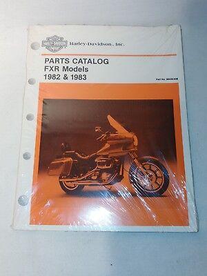 OEM Harley-Davidson 1982 & 1983 FXR Parts Catalog 99439-83B | eBay