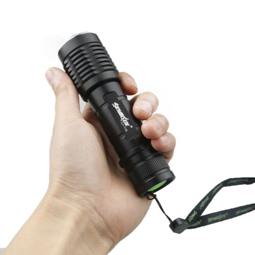 T6 LED Flashlight 90000LM Torch Tactical Bright 5-Modes Zoomable Lamp outdoor
