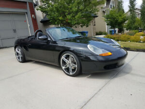 2000 Black Porsche Boxster For Sale