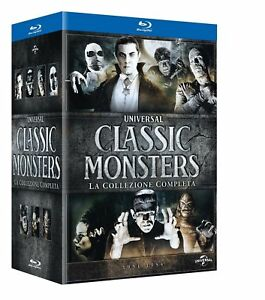Blu-Ray-Classic-Monster-La-Collezione-Completa-1931-1954-Box-7-Dischi-NEW