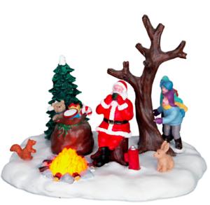 Lemax-villaggio-di-Natale-034-Babbo-Natale-prende-una-pausa-034-MPN-64084-tabella-ANIMATA-accento