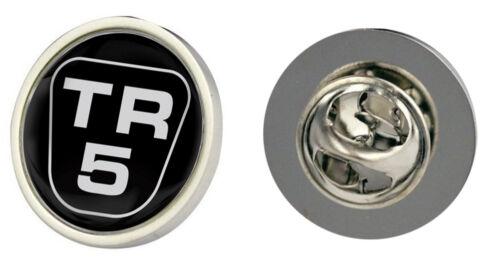 Triumph TR5 Logo Clutch Pin Badge Choice of Gold//Silver
