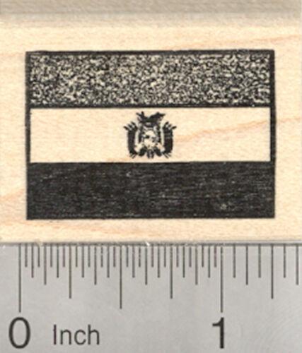 Flag of Bolivia Rubber Stamp D26826 WM