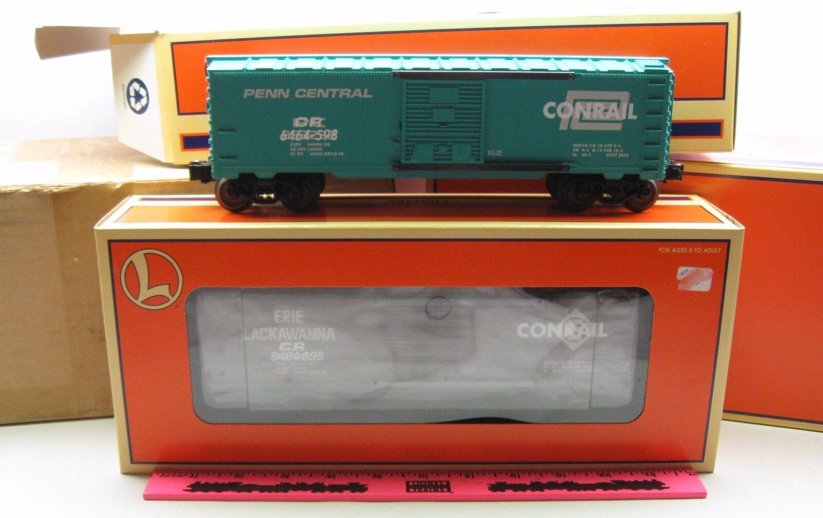 Lionel  6-21756  6464 Overstamped Boxcar set
