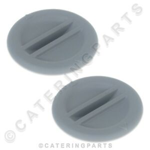 PACK-OF-2-x-WINTERHALTER-60004854-PLASTIC-END-CAPS-PLUGS-WASH-ARM-DISHWASHER