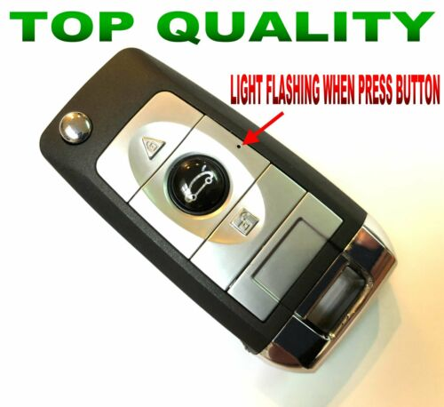 STYLE FLIP REMOTE FOR 2007-10 FORD MUSTANG PONY KEYLESS ENTRY FOB CLICKER R.R