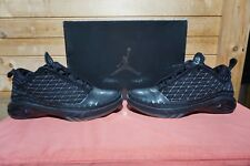 a07bcac4258 2008 Nike Air Jordan 23 Low Black Dark Charcoal Silver Sz 7.5 (0410) 323405