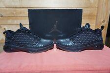 4e874925d6aeab 2008 Nike Air Jordan 23 Low Black Dark Charcoal Silver Sz 7.5 (0410) 323405