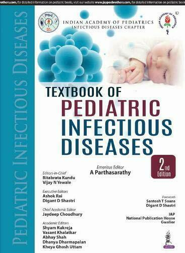 Textbook of Pediatric Infectious Diseases, Parthasarathy ...