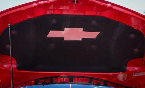 2010-2013 Camaro RS 5 Underhood Bowtie Aluminum Dress Up Under Hood 5th Gen