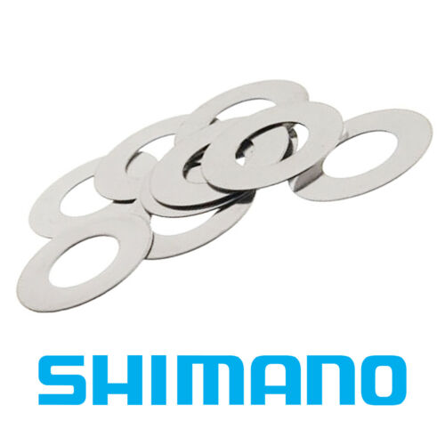 10 x Shimano Washer Shim Spacer Brake Disc Rotor •M6 •0.5mm Stainless Steel