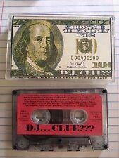 DJ CLUE Show Me the Money Pt.2 Classic 90s NYC Hip Hop Mixtape Cassette