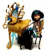 Monster High toy doll action Horror figure w/ Dresser accessory, gothic barbie